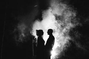 kāzu video jūrmalā naktī