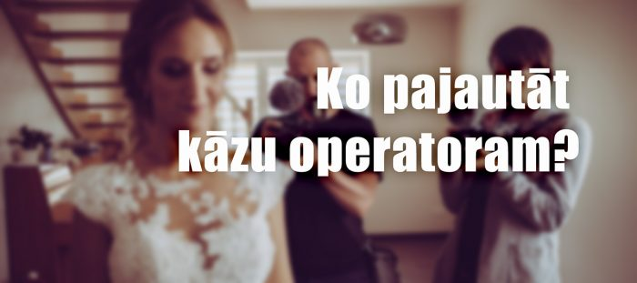 kāzu video operatori filmētāji