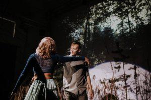 Dejas performance: Režisore Tatjana Gavrilenko; Izpildījums Līgas Libertes deju teātris; Horeogrāfija Gabija Bīriņa; Foto Einārs Freimanis