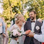 Kāzas Vecgulbenes muižā, Anna un Aleksandrs, kāzu video