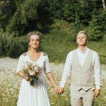 Kāzas Bebru namā, Nelda un Toms, kāzu video